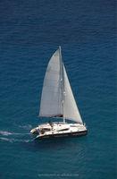 SUNRISE 57 Fiberglass Luxury Catamaran Sailing Catamaran With Mast For Sale