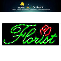 Durability Sparkling Made In China Pretty And Colorful Solar Power Outdoor Led Sign