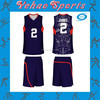 Custom made basketball uniform chinese style design with sublimation