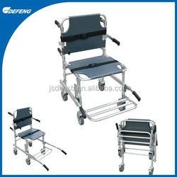 Aluminum ally stair folding chair stretcher