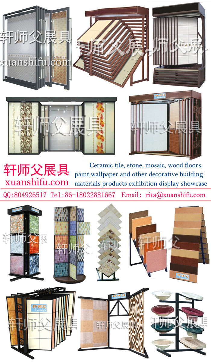 Exhibition Stand Construction Materials : Building materials stores display cabinet painting tiles