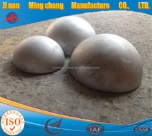 Stahl halbkugel, metall halbkugelförmigen, halbkugel kopf