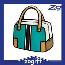 ZOGIFT 2d 3D cartoon ladies bag yiwu buying agent
