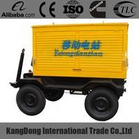 Original 100KW Volvo Trailer Type Diesel Generator Set TAD532GE