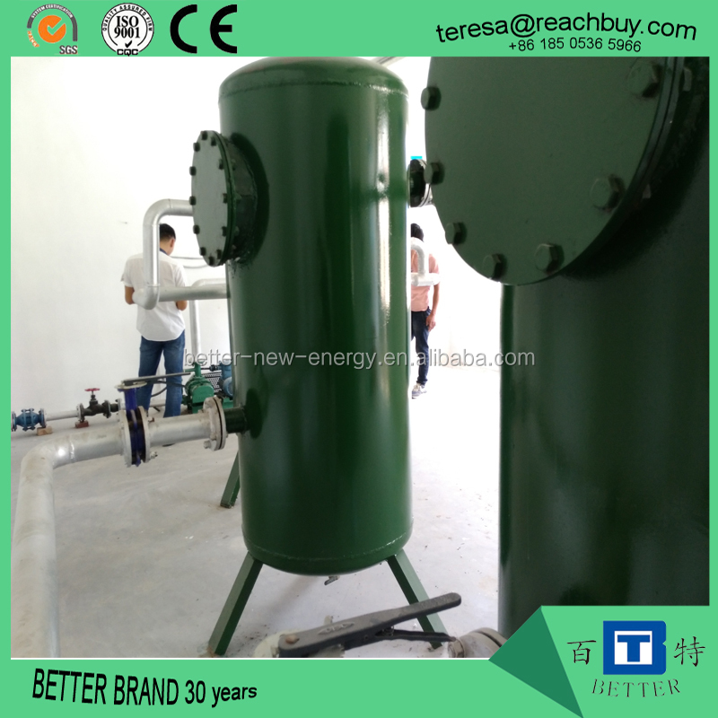 biogas desulfurization tower or biogas scrubber