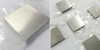 Bi-99.99% purity size 508*508*80mm or customzie for Bismuth target/ cube/sheet
