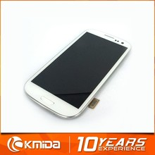 China wholesale mobile phone accessories for samsung s3 screen digitizer assembly, original lcd display for samsung s3