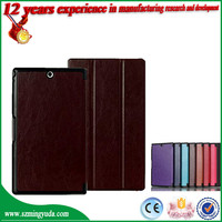 For Sony Xperia Z3 Tablet Compact SGP621 Case PU leather Tablet Cover
