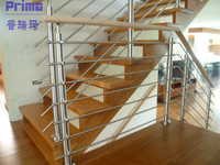 Modern balcony/stair steel grill designs (PR-B1055)