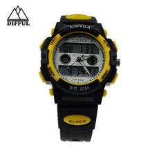 Hot selling waterproof magnetic fashion watch best men digital watches 2012