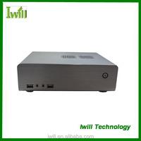 Iwill HT-70 pure aluminum mini itx slim computer case for HTPC