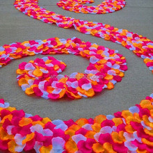 Beautiful Silk Rose Petals Wedding Decoration