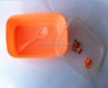 Factory Price Promotional Popular Plastic Lunch Box With clear Lid