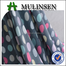 Knitting Polyester Spandex Printed FDY Brushed Textile Fabric
