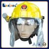 Fire helmet safety face shield fire security helmet wholesale