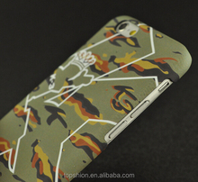 Stylish fashion & trendy camouflage hard case for iPhone 6 shell case protective cover custom cases
