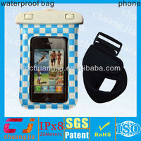 High quality pvc waterproof diving bag for smart phone