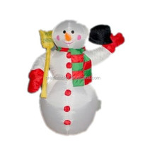 2014 new popular christmas decoration/cheap christmas decoration/inflatable snowman