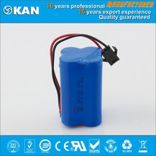 KAN 4.8V 4xAA 1000mAh nimh rechargeable battery pack for rc car, boat, helicopter or R/C model