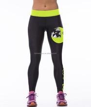 Digital printing fitness women's gym sport leggings