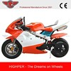 Chinese New 2 stroke Pocket Bike with high quality (PB008)