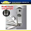 CALIBRE Promotion gift Multi tool with bottle opener multi function tool with screwdriver Bit Set