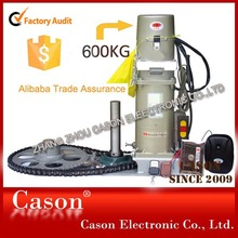 Cason Fast Speed AC DC 600KG Remote Controller Motor