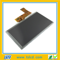 Top sale 7'' color tft display 800x480 dots with touch panel
