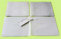 4 pages 0.14 frosted cd cover with white non-woven fabric for cd store
