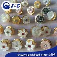 2015 EOM handicraft carve nature MOP sea shell colourful earring,shell eardrop