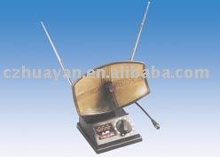 Комнатная антенна с усилителем с кабелем