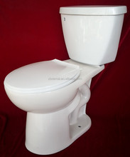 DMT-412 S-trap SIPHONIC TWO PIECE TOILET AND TOILET SEAT