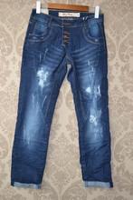 Women denim loose cut jeans