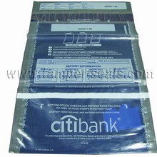Cost-Effective, Easy-to-Use, High Security and Env-friendly Vertical-Dual-Pocket Plastic Tamper Proof Envelopes