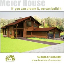 Prefab Modern Wooden House with Music Studio and Double Garages DY-E-320