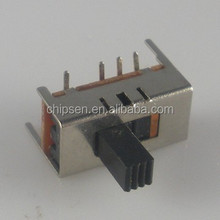 SS -12D07 1P2T Micro push button type Slide Switch