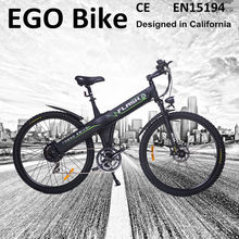 Flash, e bike 48v battery run design for mountain orange