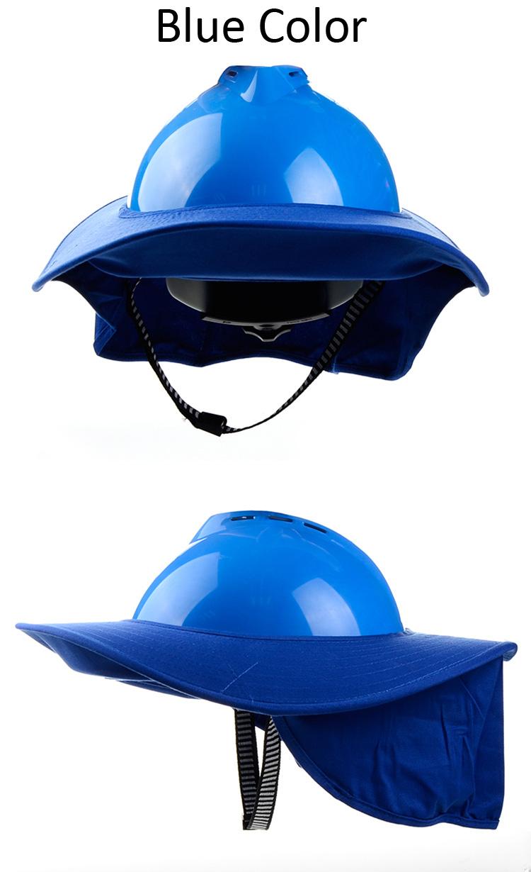 blue color brim