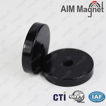 Neodymium Rubber coated Pot Magnet