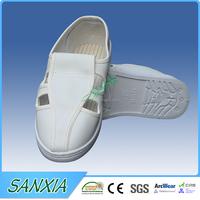 PU/PVC/SPU sole canvas upper ESD safety shoe/ slipper