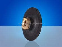 Super Soft Angle Grinder Rubber Velcro Holder / Rubber backed rubber pads