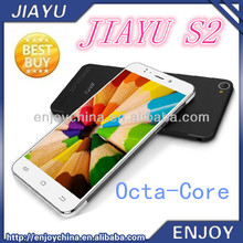 2014 Android 1GB RAM Ultra-Thin 6mm Octa-Core MTK6592 1.7Ghz JIAYU S2 GPRS Mobile Phone With High Speed Internet