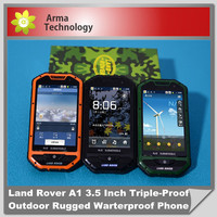 Land Rover A1 Rugged Phone 3.5 Inch Triple-Proof Outdoor Warterproof Android Mobile Phone with SOS