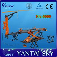 China Supplier CE Proved FA-5000 Auto Body shop / Auto Body Frame Machine / Euro Frame Machine