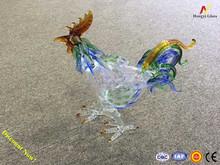 rooster shape absinthe bottle