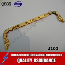 gold color purse frame/ Purse frame/handbag frame/New design bag frame closure hardware top closure