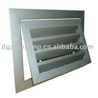 ZS-FB weather proof air louver for HVAC system