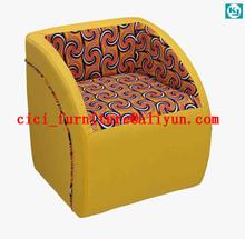 Mordern piccolo divano sedia, in pelle poltrona, divano di lusso di piccole, facile Singel divano