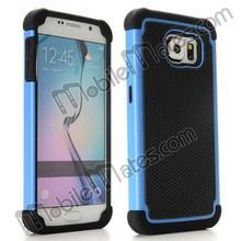 Heavy Duty for Samsung Galaxy s6 Case, Football Pattern 2 in 1 TPU PC Hybrid Hard Case for Galaxy S6 G9200
