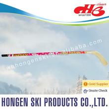 2015 New design Hongen composite ice hockey stick-- ABS shaft, glassfiber blade